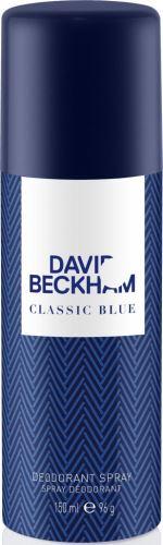David Beckham Classic Blue spray dezodor 150 ml Férfiaknak