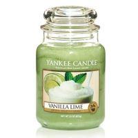 Yankee Candle Vanilla Lime illatos gyertya 623g