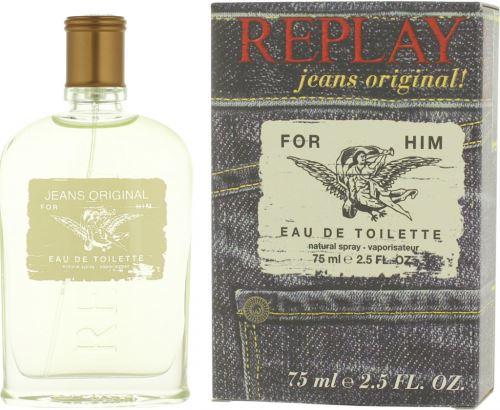Replay Jeans Original For Him EDT 75 ml Férfiaknak