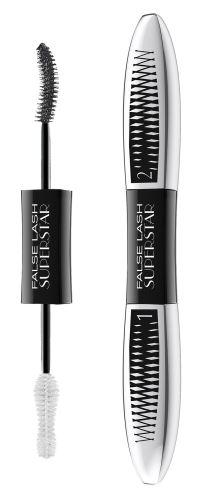 L'Oréal Paris False Lash Superstar kétfázisú, dúsító szempillaspirál 2x6,5 ml