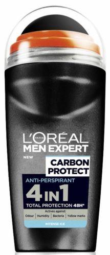 L'Oréal Paris Men Expert Carbon Protect Antiperspirant Roll On izzadásgátló roll-on 50 ml Férfiaknak