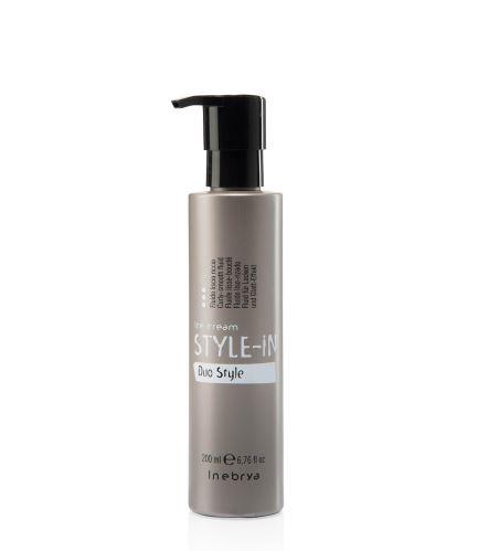 INEBRYA STYLE-IN Duo Style kiegyenesítő szérum göndör hajra 200 ml