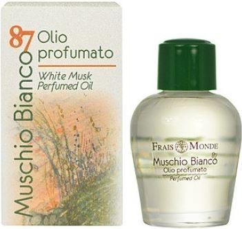 Frais Monde Muschio Bianco 87 White Musk Perfumed Oil illatos olaj 12 ml Nőknek