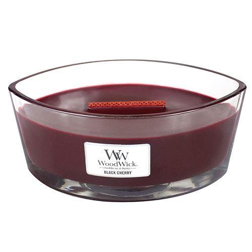 WoodWick Black Cherry illatos gyertya 453 g