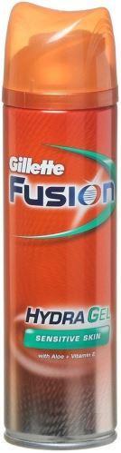 Gillette Fusion borotválkozó gél érzékeny arcbőrre 200 ml Férfiaknak