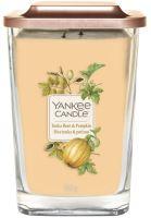 Yankee Candle Elevation 2 wicks Tonka Bean & Pumpkin illatos gyertya 552 g
