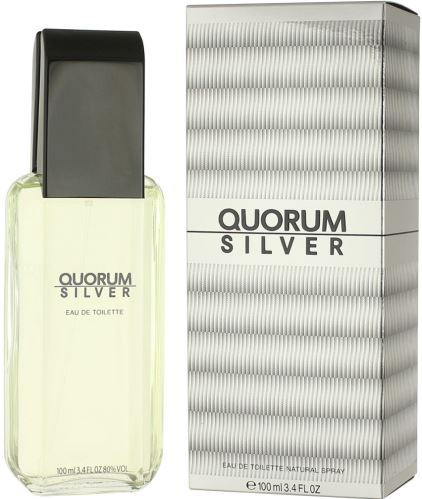 Antonio Puig Quorum Silver EDT 100 ml Férfiaknak