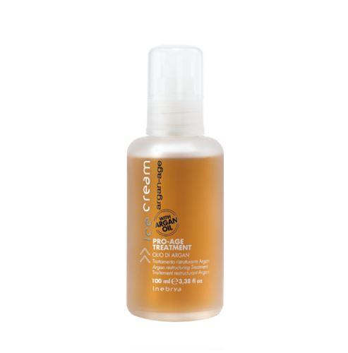 INEBRYA ARGAN-AGE Pro-Age Treatment olej na vlasy s arganem 100 ml Nőknek