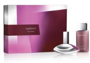 Calvin Klein Euphoria EDP 100 ml + tělové mléko 100 ml Nőknek ajándékcsomag