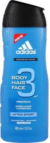 Adidas 3in1 After Sport tusfürdő gél 400 ml Férfiaknak