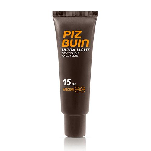 Piz Buin Ultra Light Dry Touch Face Fluid SPF15 kozmetikum napozáshoz 50 ml Nőknek