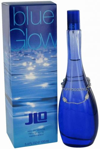 Jennifer Lopez Blue Glow