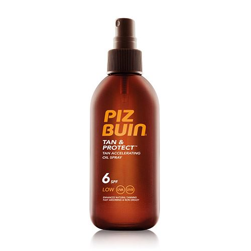 Piz Buin Tan & Protect Tan Accelerating Oil Spray SPF6 kozmetikum napozáshoz 150 ml Nőknek