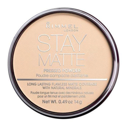 Rimmel Stay Matte Long Lasting Pressed Powder mattító és élénkítő púder 14 g.