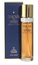Elizabeth Taylor Diamonds and Saphires