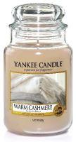 Yankee Candle Warm Cashmere illatos gyertya 623 g
